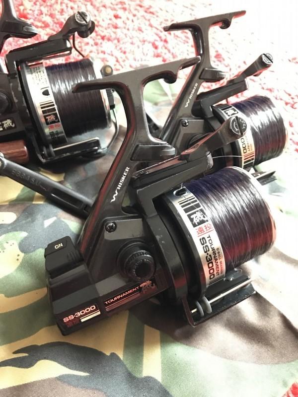 02e61e47ac0 3 x Daiwa ss3000 Original Big Pit Reels.   tobycarp1