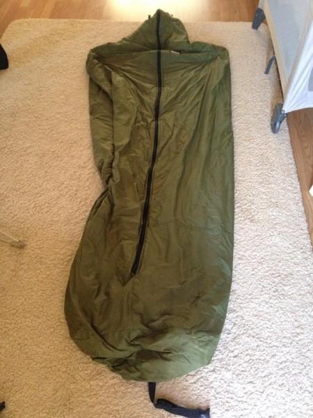 Aqua Union Jack Sleeping Bag